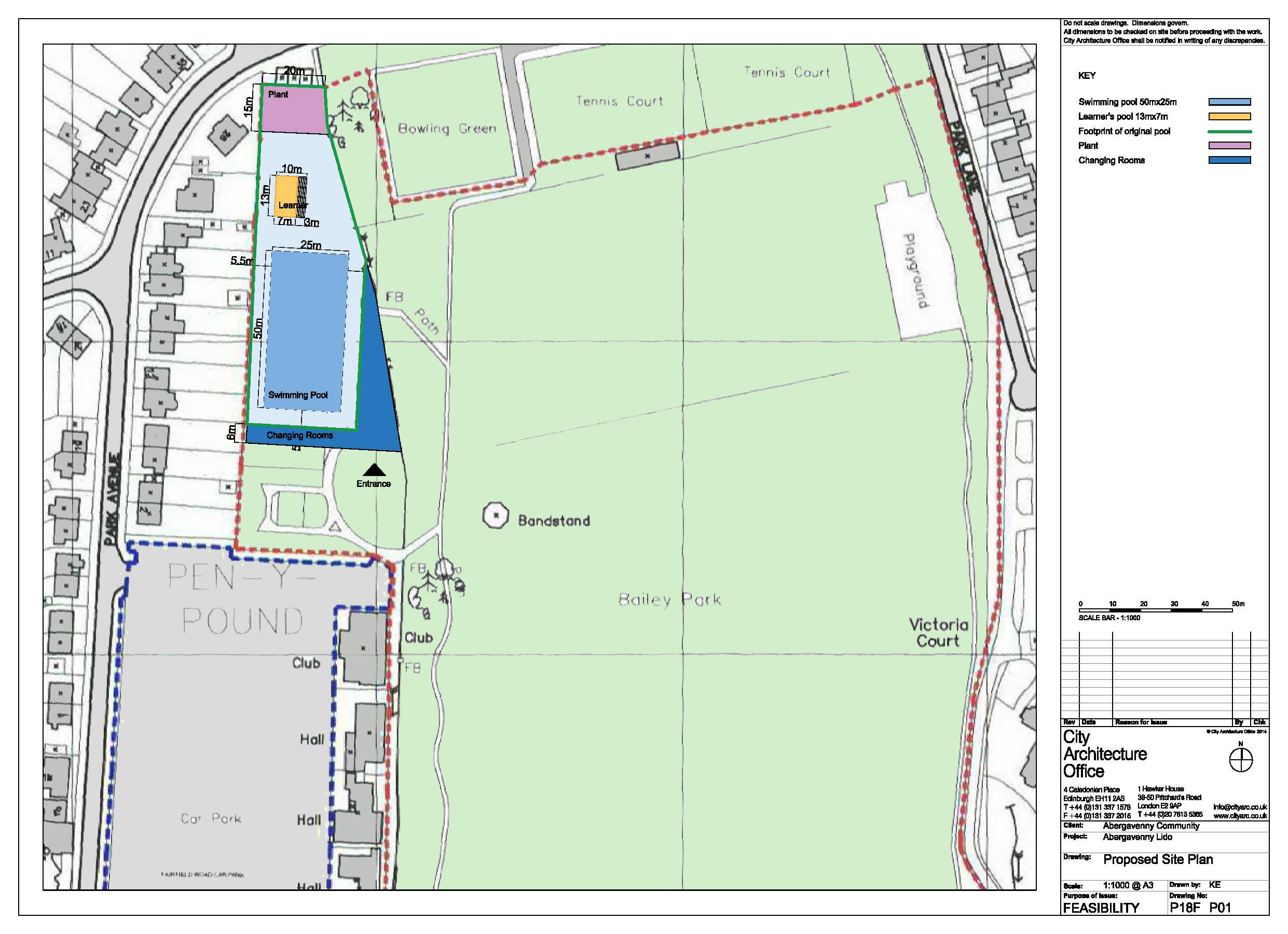 P18F Prop Lido Site Plan